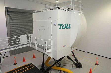Toll AW139 simulator (2)